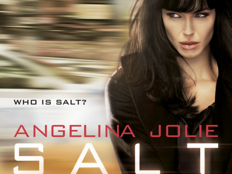 SALT movie starring Angelina Jolie