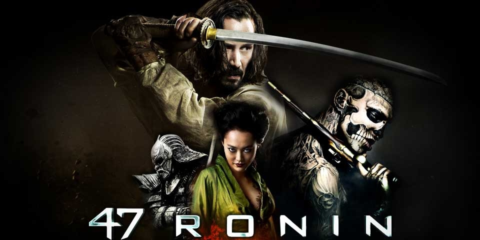47 Ronin - a fantasy action film starring Keanu Reeves
