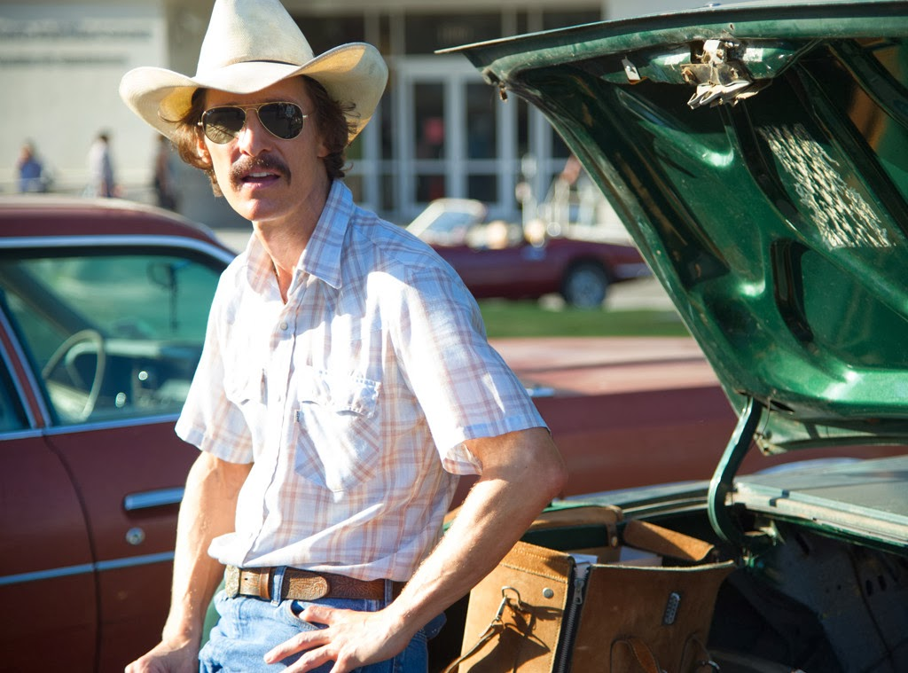 Dallas Buyers Club - A biographical drama starring Matthew McConaughey