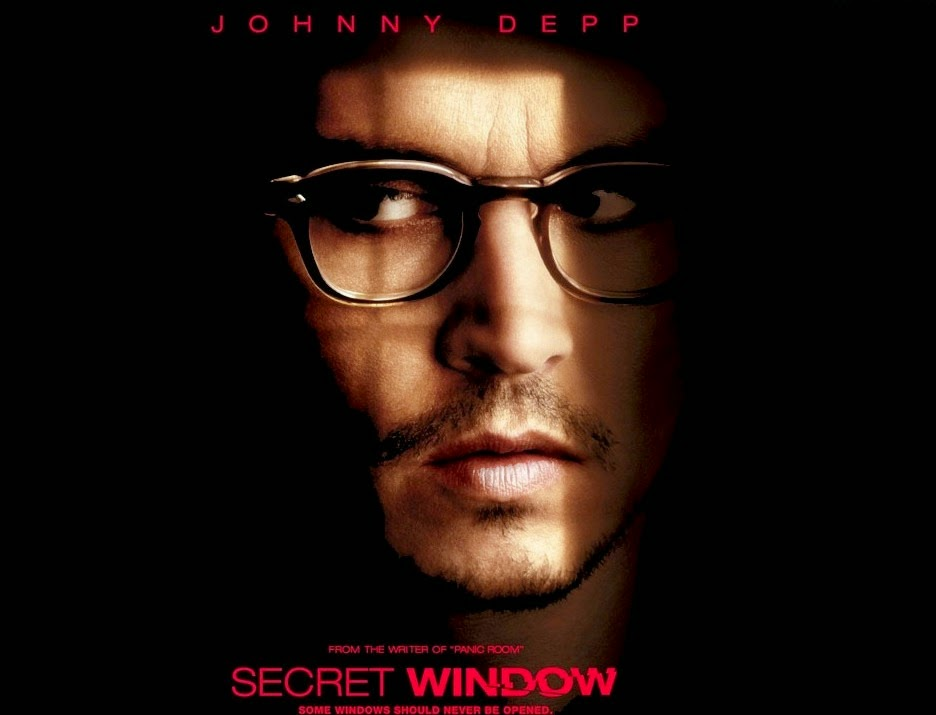 Secret Window thriller film starring Johnny Depp