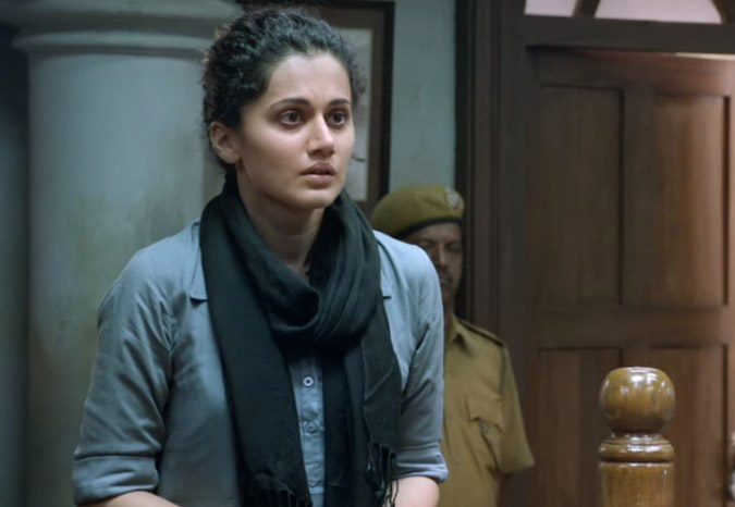 Taapsee Pannu in the film PINK