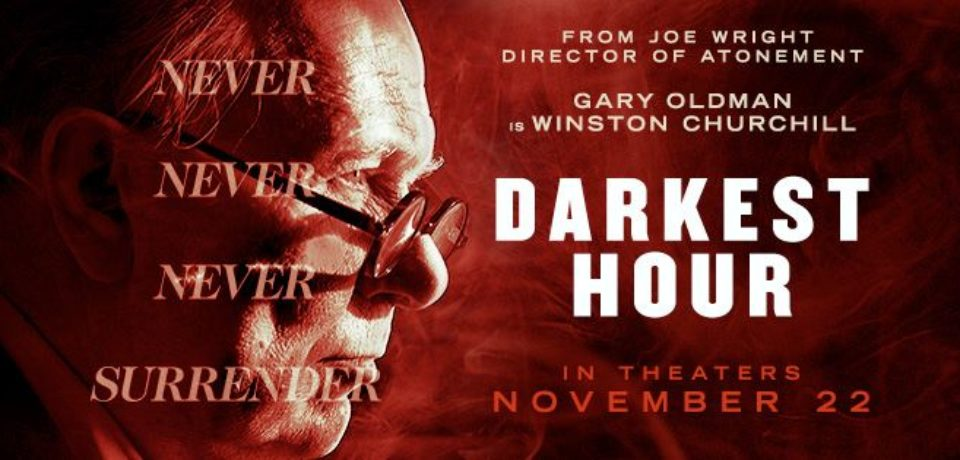 Darkest Hour (TRAILER), Gary Oldman as Churchill