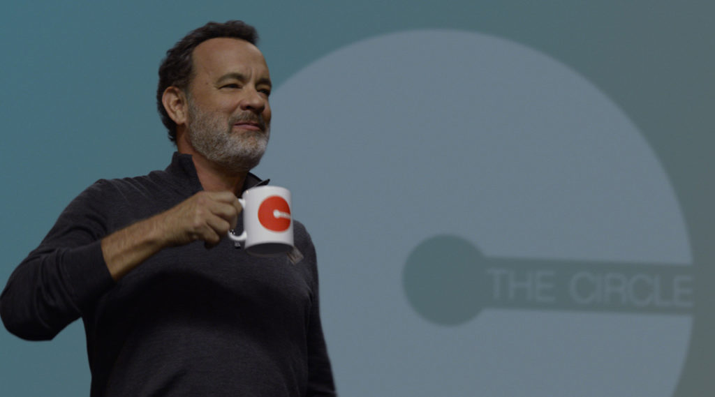 Tom Hanks in the film The Circle