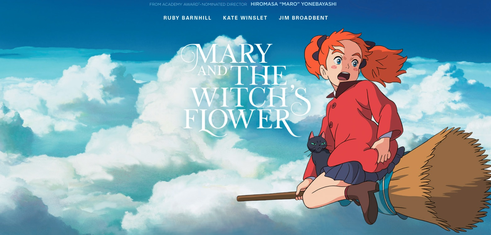 Mary and the Witch's Flower Animated Film