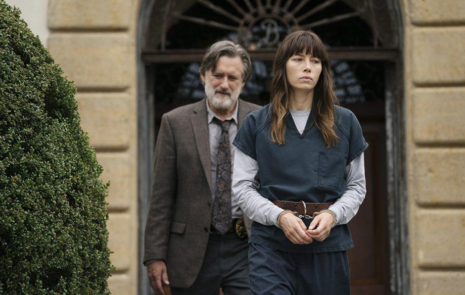 Bill Pullman and Jessica Biel in The Sinner - Season 1.