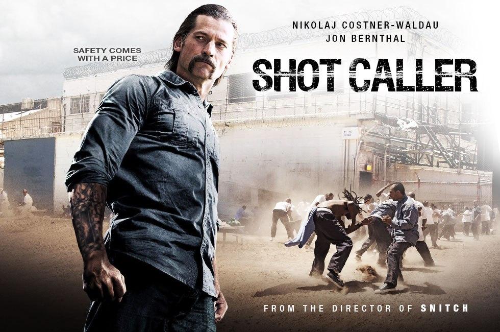 Shot Caller starring Nikolaj Coster-Waldau