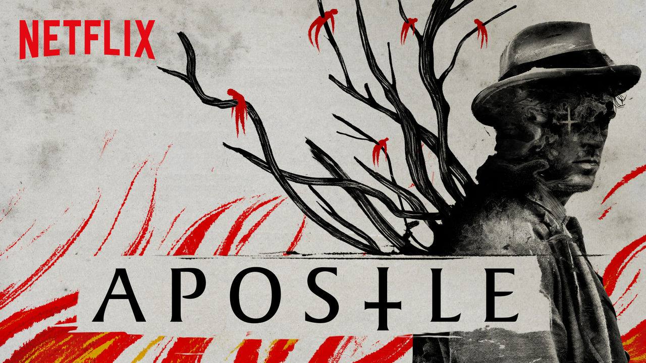 Dan Stevens in Netflix's horror film Apostle