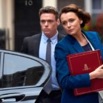 "Richard Madden and Keeley Hawes in ""Bodyguard"""